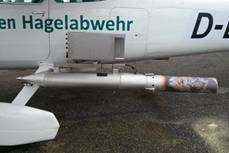 Product Photo of Aircraft-mounted Generator for Cloud Seeding